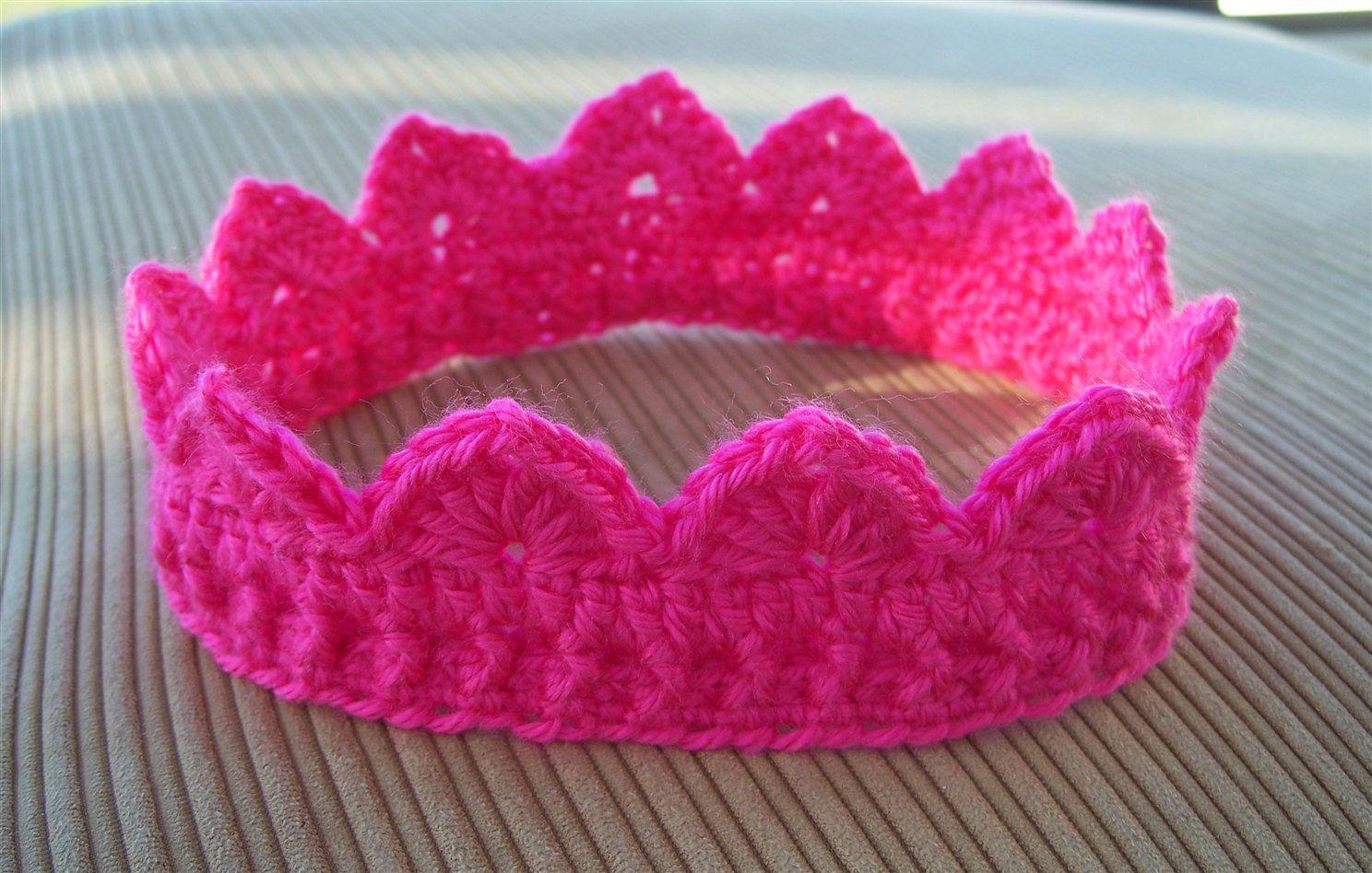 Crocheted Crown. | Crochet | Pinterest