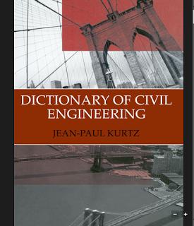 Dictionaro Of Civil Engineers Png 275 320 Civil Engineering Civil Engineering Dictionary Engineering