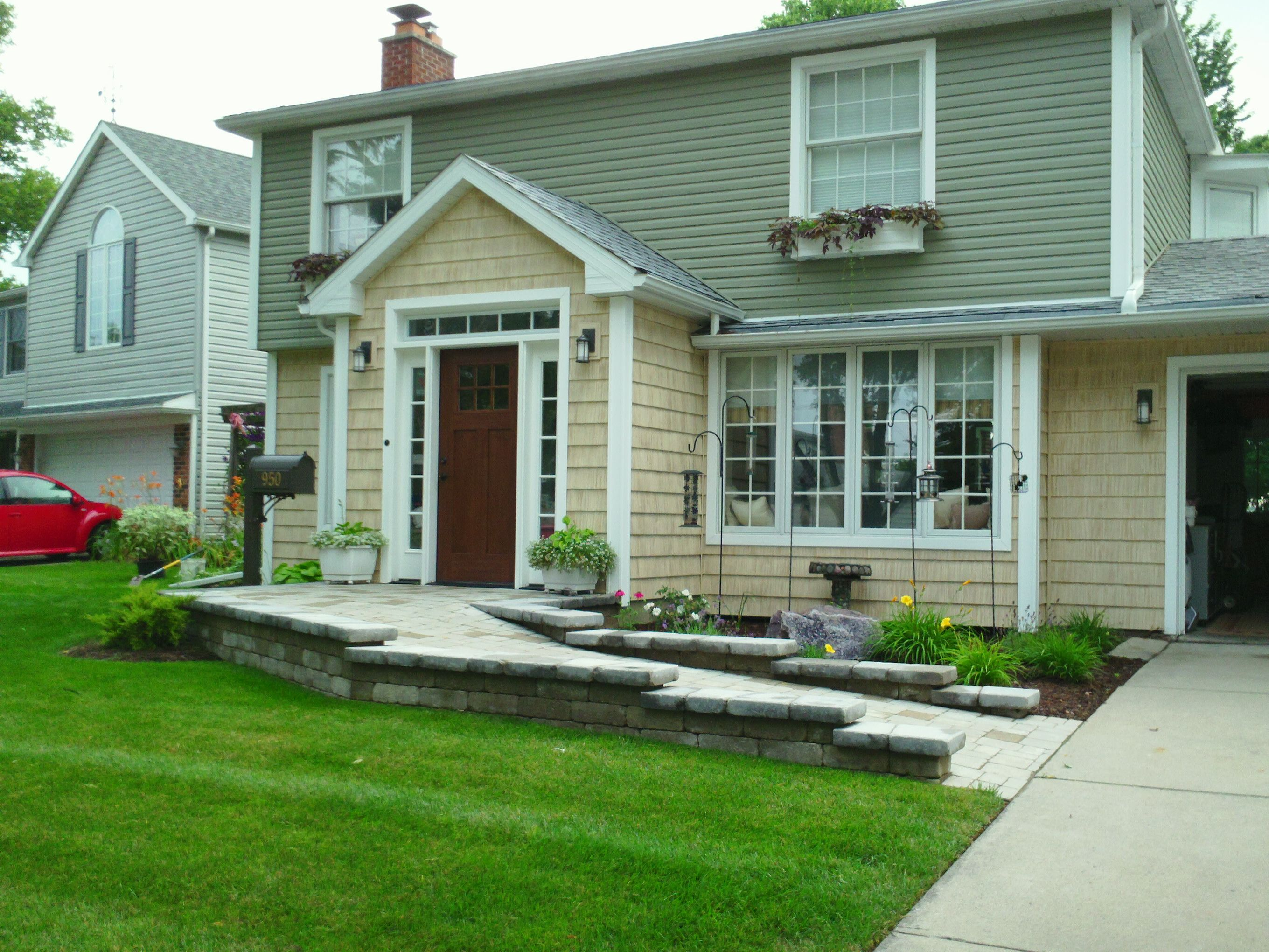 Brick Paver Ramp For A More Accessible Entrance Way