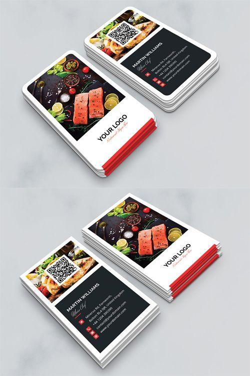 Download business card restaurant vertical free download business download business card restaurant vertical free reheart Images