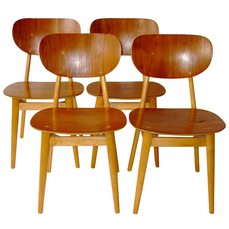 Set of two dining chairs by Cees Braakman for UMS Pastoe | 1stdibs.com