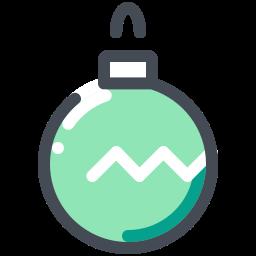 Christmas Ball Icon Free Download Png And Vector Christmas Balls Icon Holiday Icon
