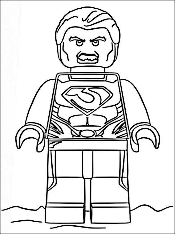 6 Malvorlagen Lego Superheroes: Lego Marvel Heroes Coloring Pages 5