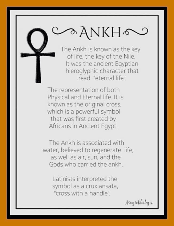 Ankh Symbolism God Of Egypt Pinte
