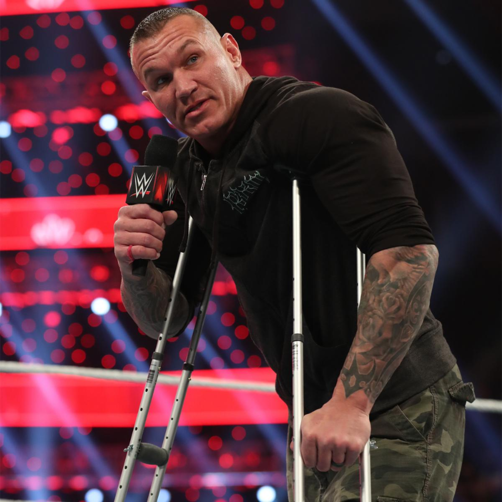 Photos The Phenomenal One Confronts An Injured Viper In 2020 Wwe Live Events Randy Orton Aj Styles