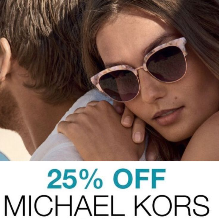 e6aa3ad3149 25% off Michael Kors Sunglasses during the  Hello Spring  Sales Event at  Sunglass