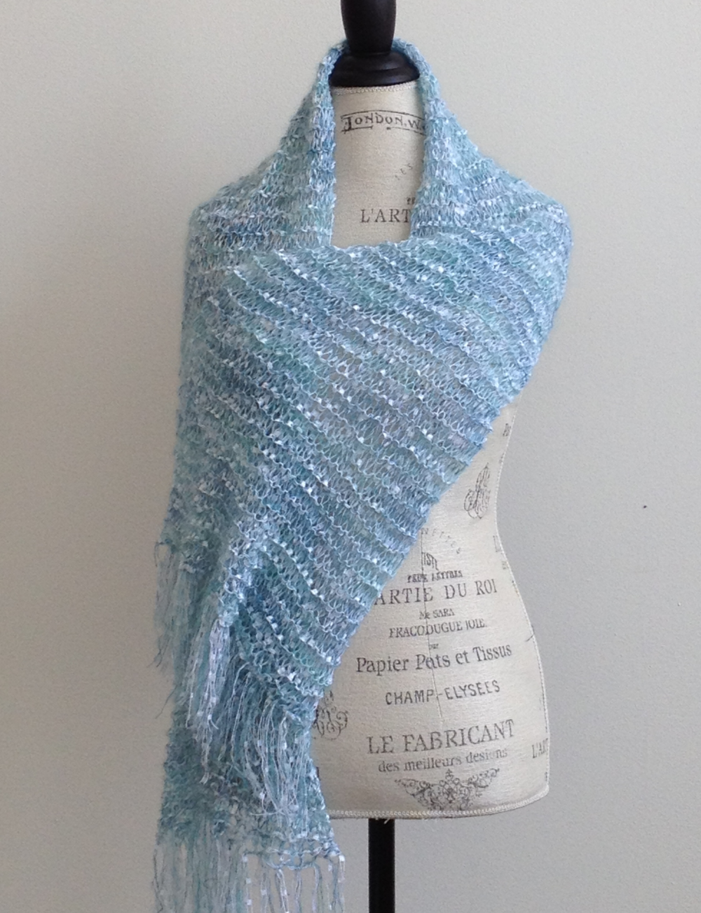 Linda\'s Little Luxe Scarf Free Knitting Pattern | Knitting patterns ...