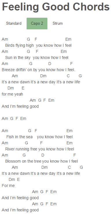 Avicii - Feeling Good Chords | Avicii | Pinterest | Avicii, Feelings ...