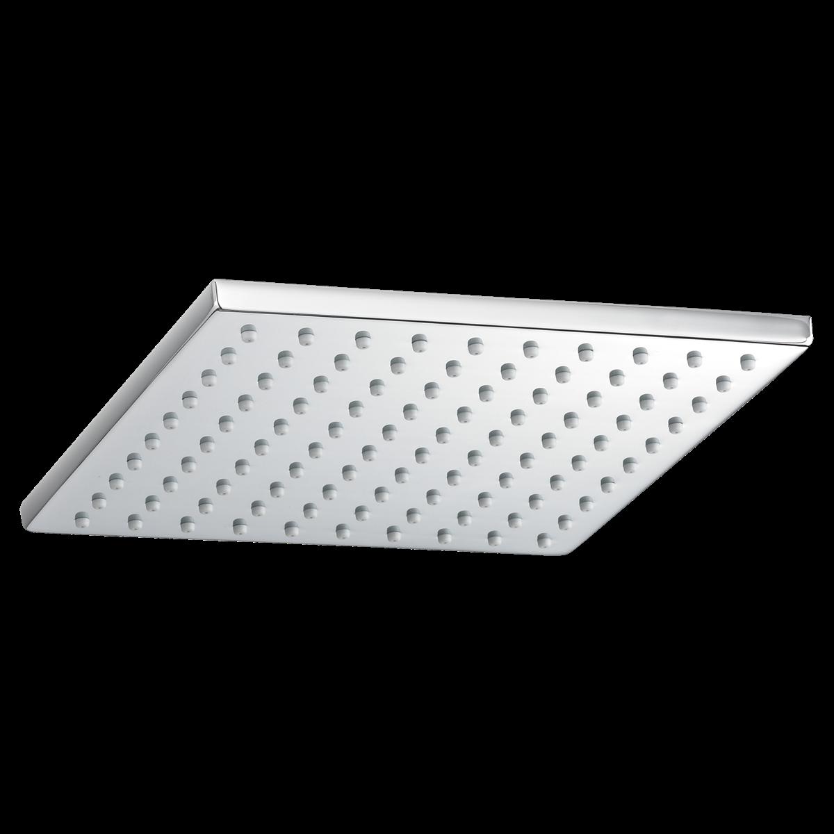 Shower Faucets 8 Inch Square Rain Showerhead Polished Chrome