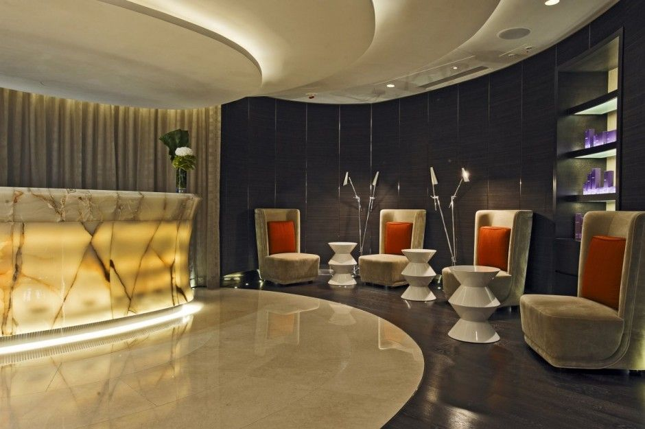 Modern ESPA Spa Design by Hirsch Bedner Associates Latest ...