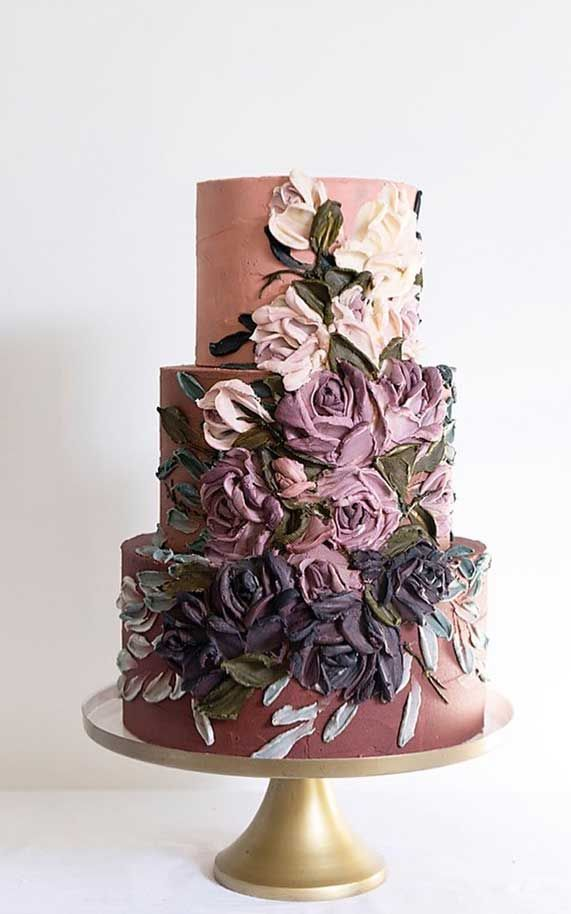 Just like bridal dresses, wedding cakes can also be trendy or obsolete. A traditional wedding cake is usually a white vanilla cake in towering...