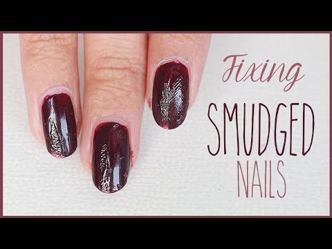 How To Fix Your Manicure Learn Nails Technician Tips Tricks At Home Easy Repair For Beginners Youtube Nails Quick Nail Art Nail Art Hacks
