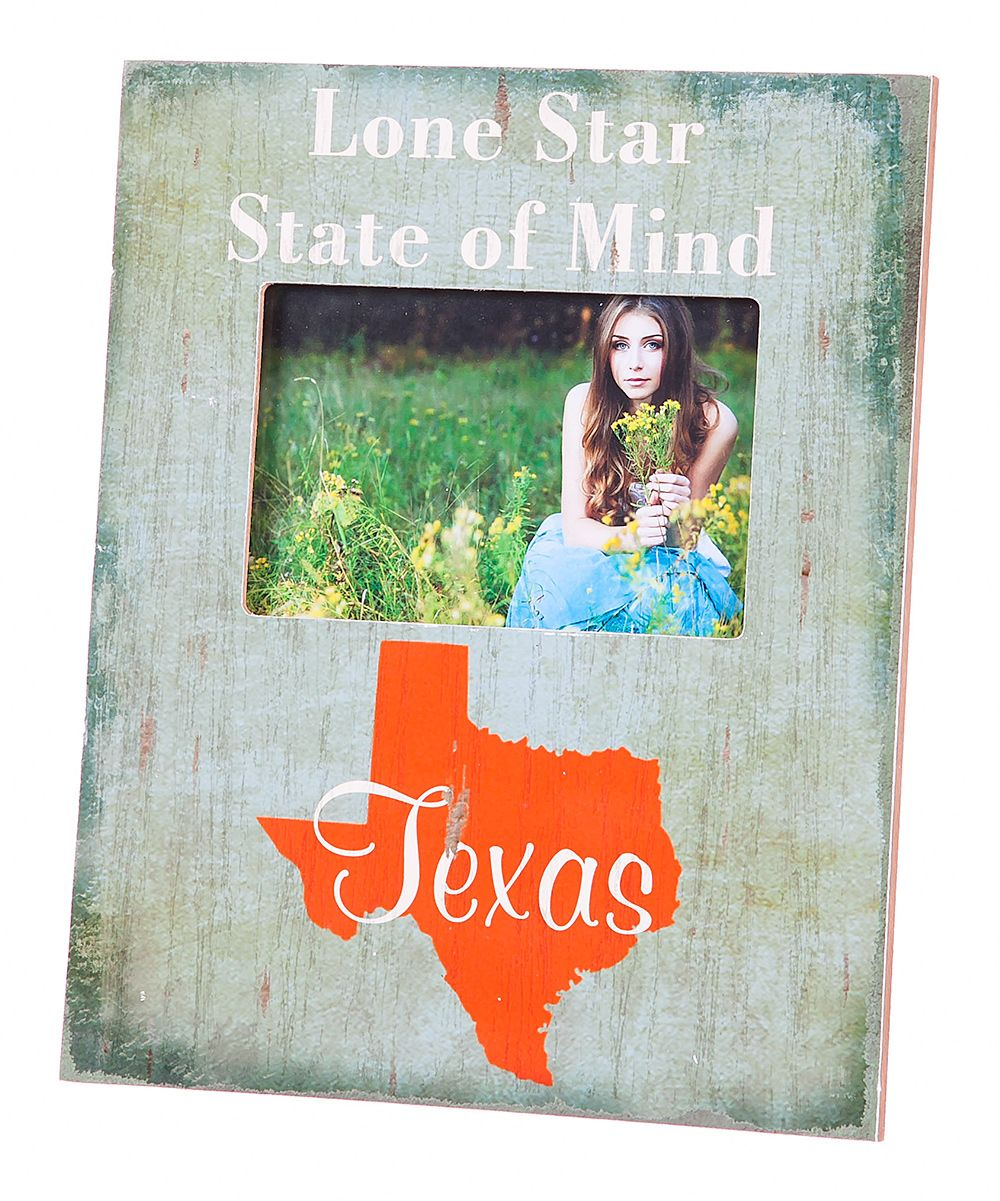 Bookshelfdesign Ideas: 'Lone Star State Of Mind' Texas Frame