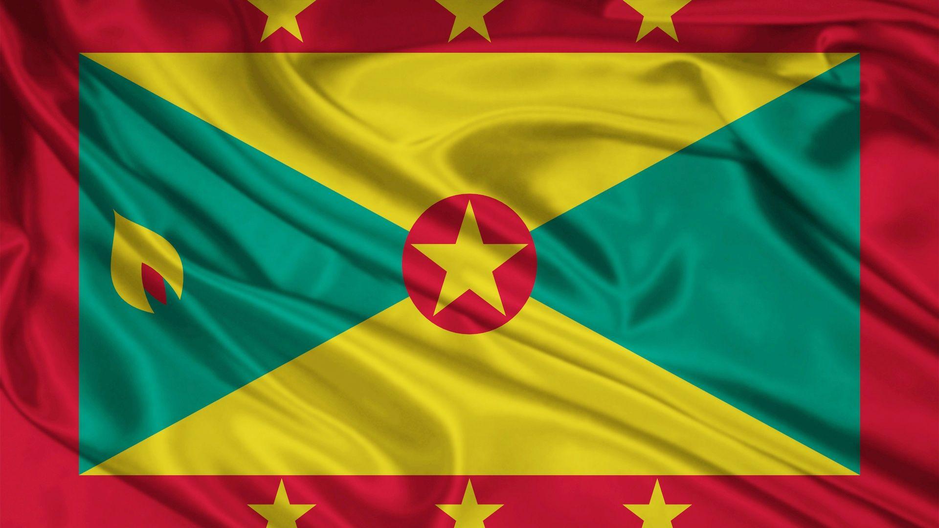 Grenada+Flag   Grenada Flag in 2019   Grenada flag, Flag, Grenada