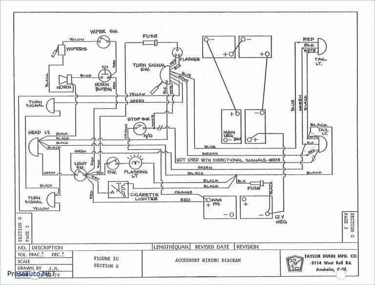 1989 Ez Go Wiring Diagram di 2019