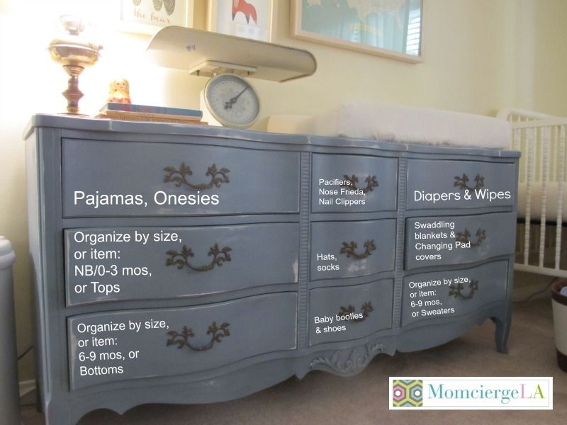 Michele Didn T Have Any Closet E For The Baby Hello Amazing Long Hang Organizing Dressernursery