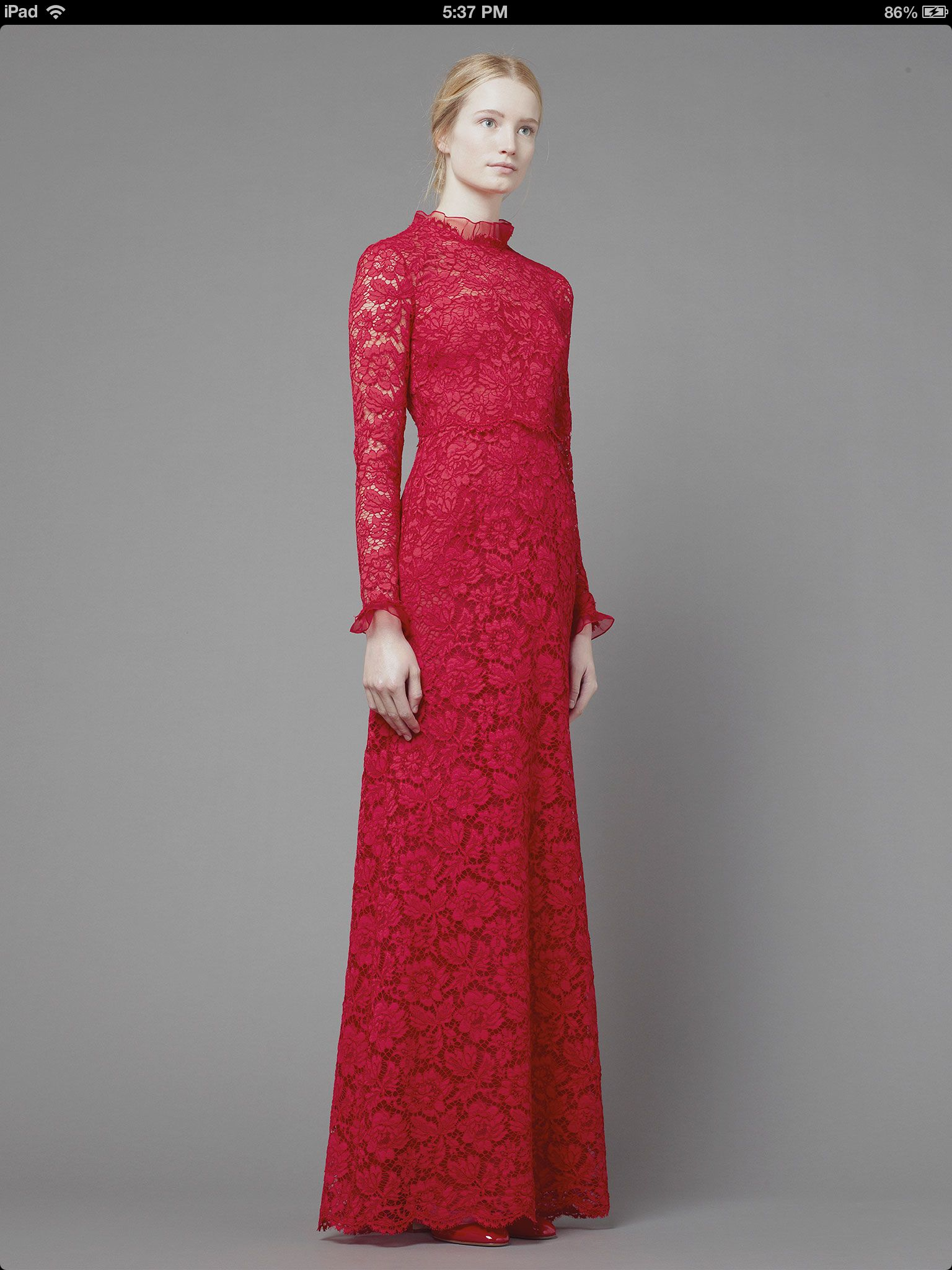 Valentino women's collection fall 2013