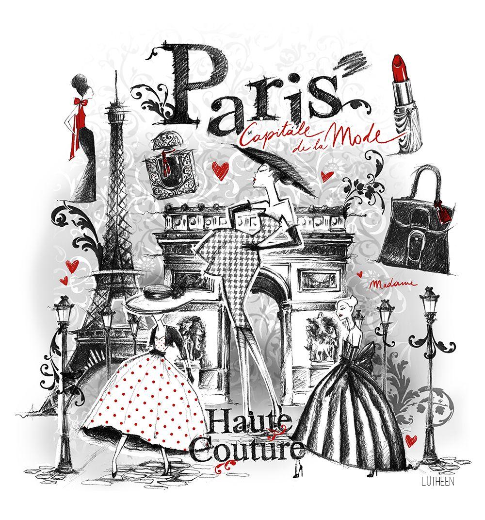 Paris Illustration: Paris Https://www.facebook