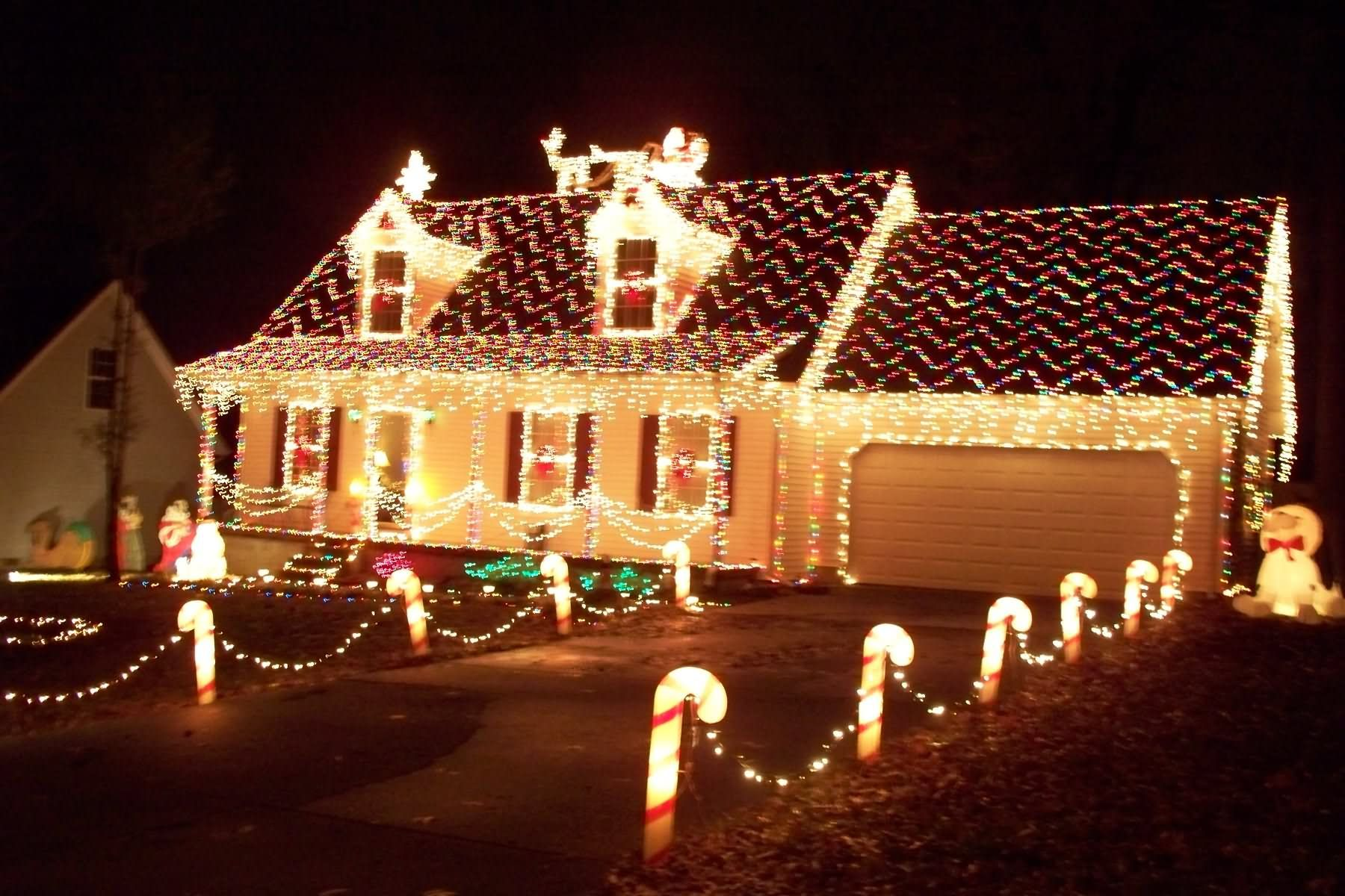 Christmas Houses Decorated Fair Christmas Decorations For Your House  Home Design Ideas O_O . Inspiration Design