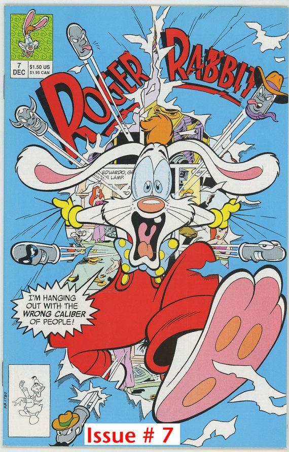 Pick The One You Want. Walt Disney, Roger Rabbit 1991. #7, #8, #9 ...