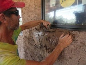 Adobe Plaster or Conventional Stucco? | Straw Bale Construction
