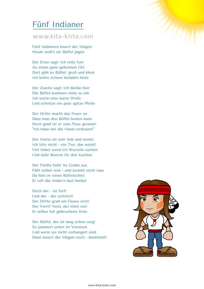 indianer und chinesen lied