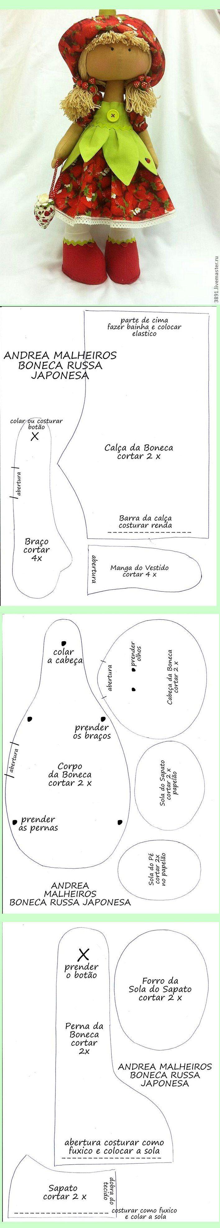 Pin von Nubes de Chocolate auf MUÑECAS | Pinterest | Puppen ...