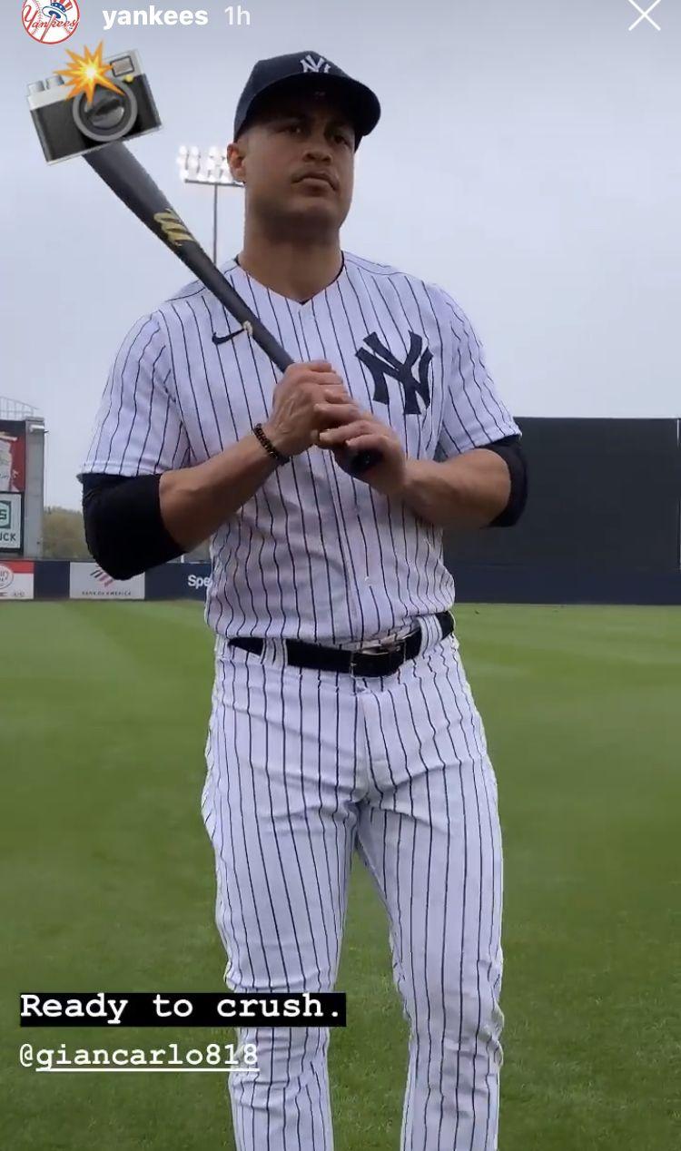 Pin by Linda Riga on NY Yankees in 2020 Giancarlo