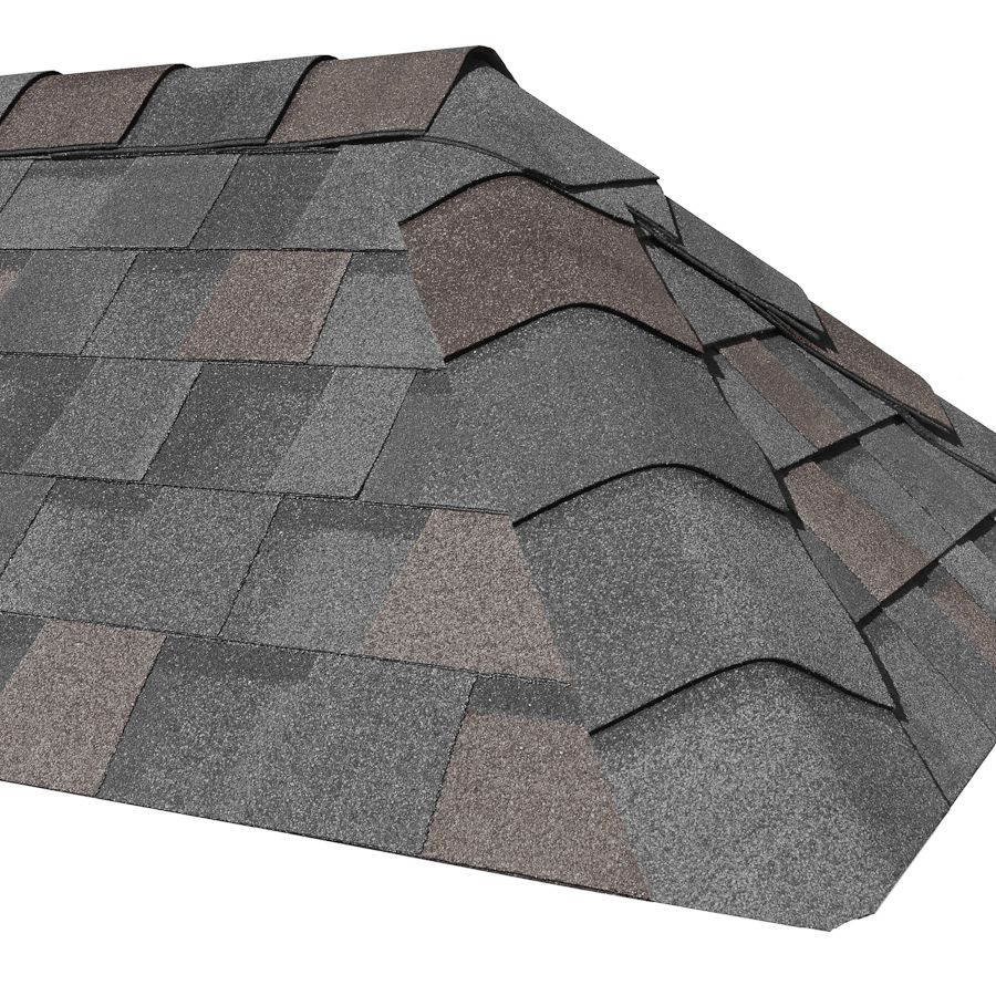 The Landmark Hip And Ridge Accessory Cedar Crest In Weathered Wood Roofing Shingles Certainteed Roofing Certainteed Shingles Certainteed