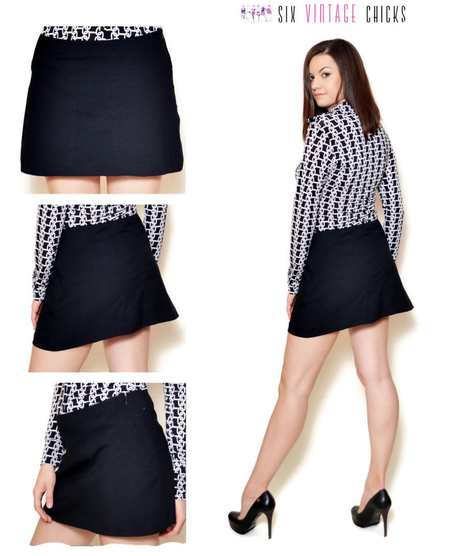 Mini Skirt Women High Waisted Evening