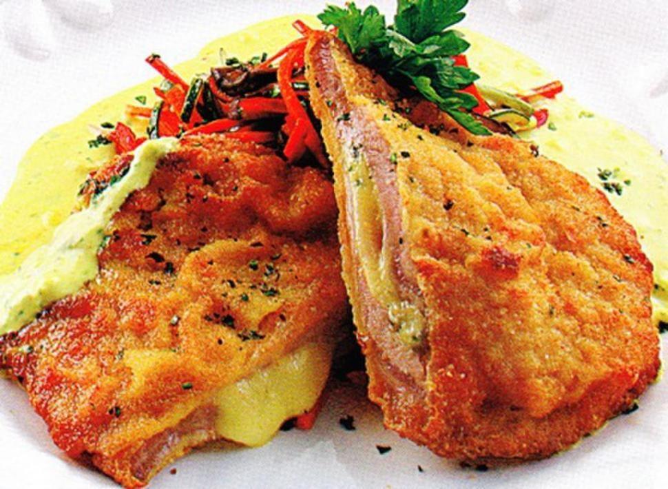 Recetas De Cocina Berenjenas Rellenas | Milanesas De Berenjenas Rellenas Recetas De Cocina Recetas