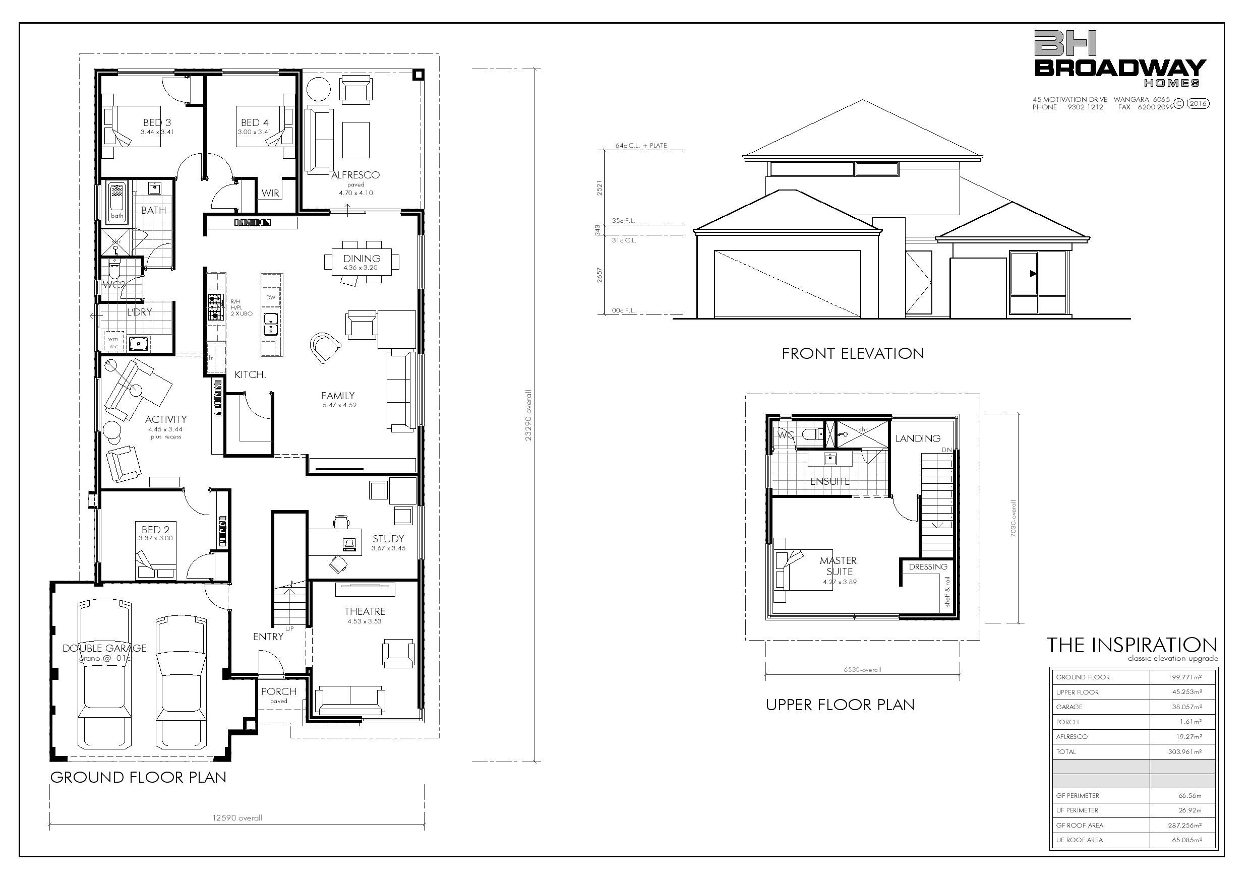 The Inspiration Ltd Limited Edition Designs Broadway Homes Design Inspiration Small House Plans