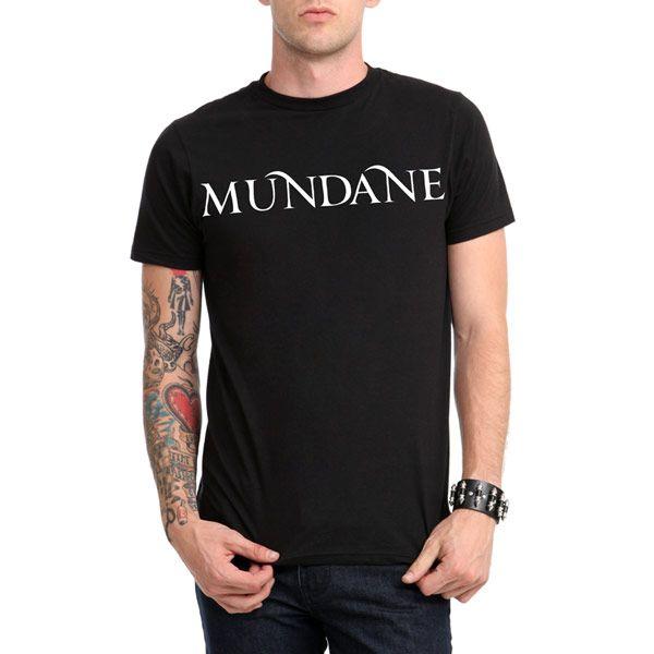 The Mortal Instruments: City Of Bones Mundane T-Shirt