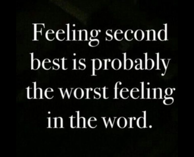 don t settle for second best