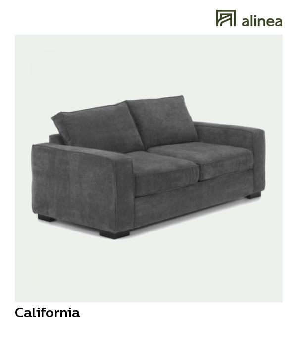 Alinea California Canape 3 Places Convertible En Tissu Gris Souris Canapes Tous Les Canapes Canapes Convertibles Al Canape Design Canape Canape Angle