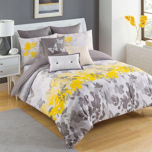 Ks Studio Celine Duvet Cover Set Comforter Sets Complete Bedding Set Grey Comforter Sets