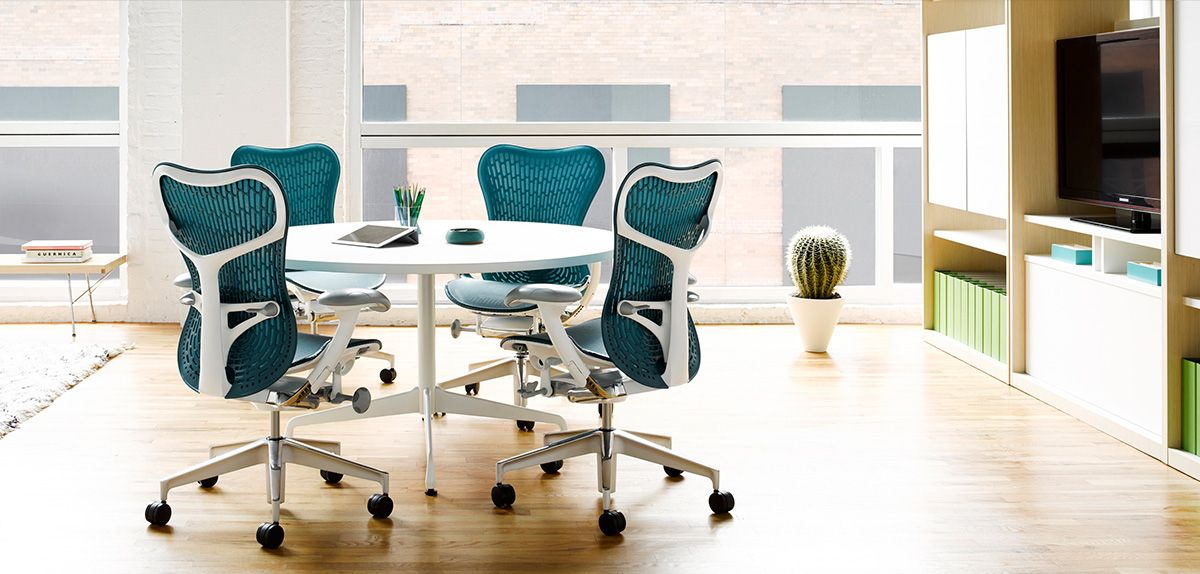 Herman Miller seating, workspaces, tables, storage