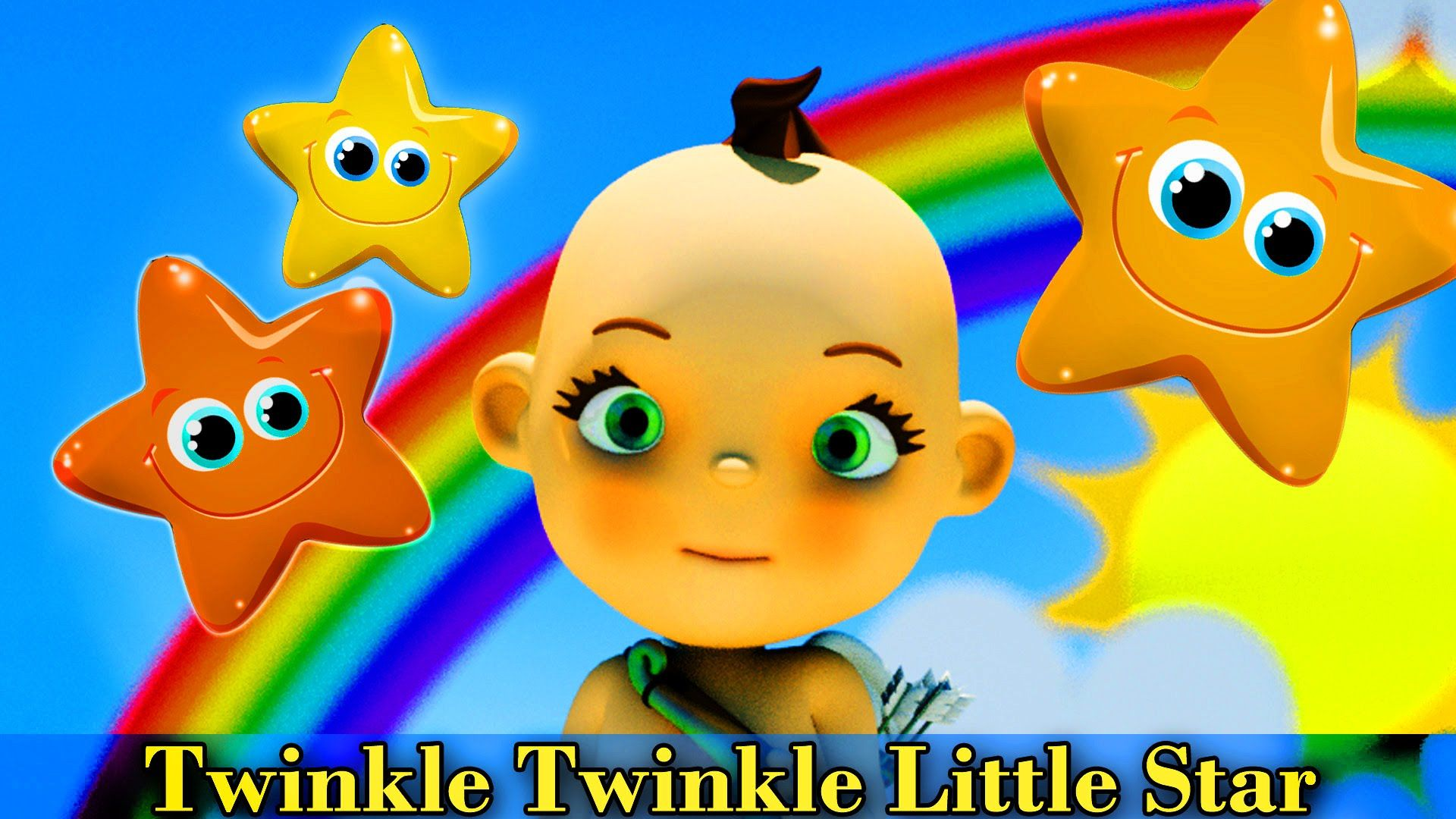 https://www.youtube.com/watch?v=sXtV7KjPH5c Watch the Baby Song Twinkle Twinkle Little Star. 3D Animation of Dancing Baby Cupid dancing to Twinkle Twinkle Baby Song is the cutest ever!