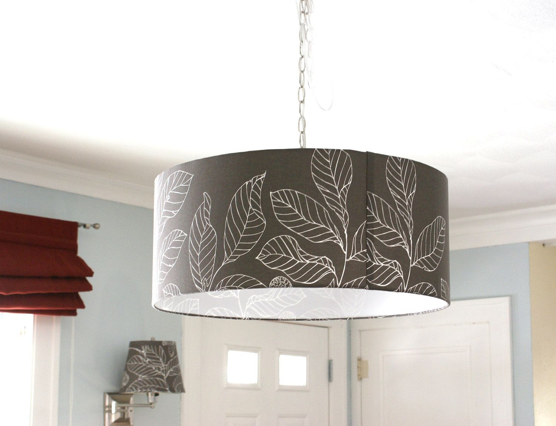 nature inspired lighting. $135 Achromatic Nature Inspired Drum Pendant Light - Pick Pattern And Size. $90.00, Via Lighting