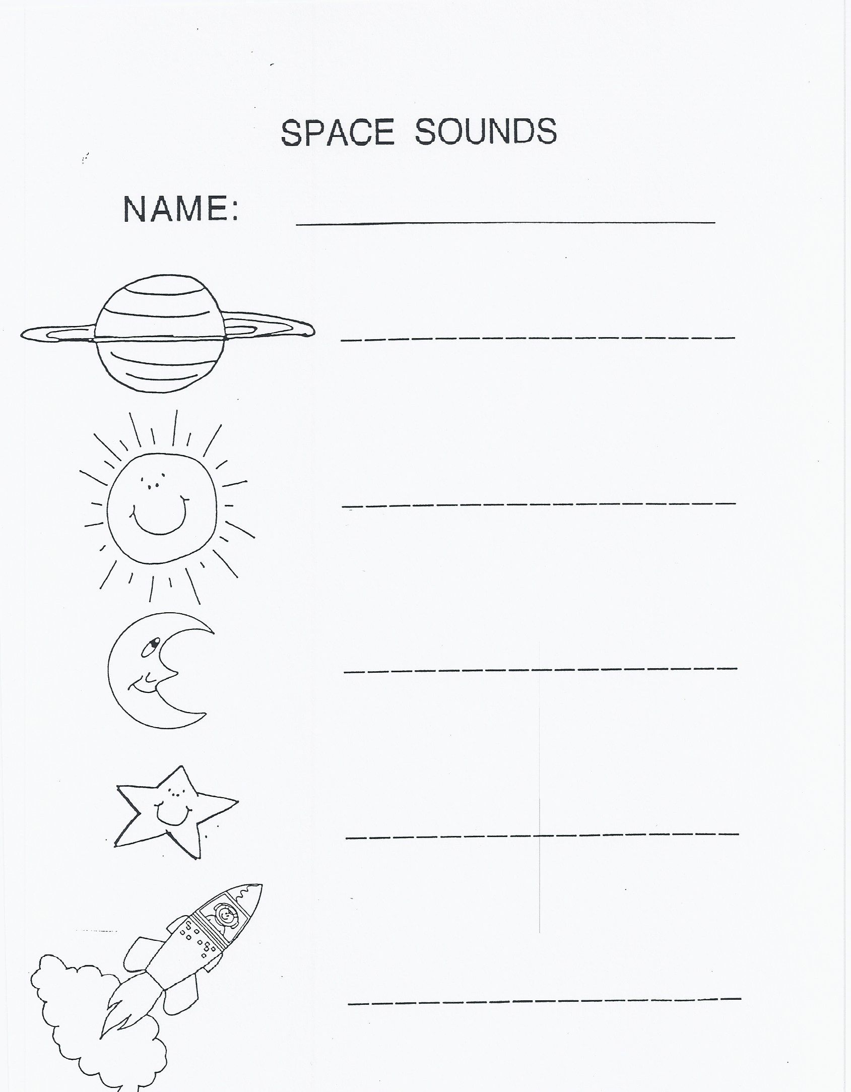 Pin by Gen on Space Camp | Pinterest | Worksheets, Space theme and ...