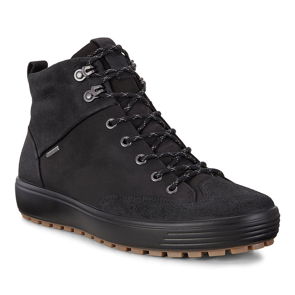 Ecco Soft 7 Tred M Mens Sneaker Boots Mens Boots Casual Sneaker Boots