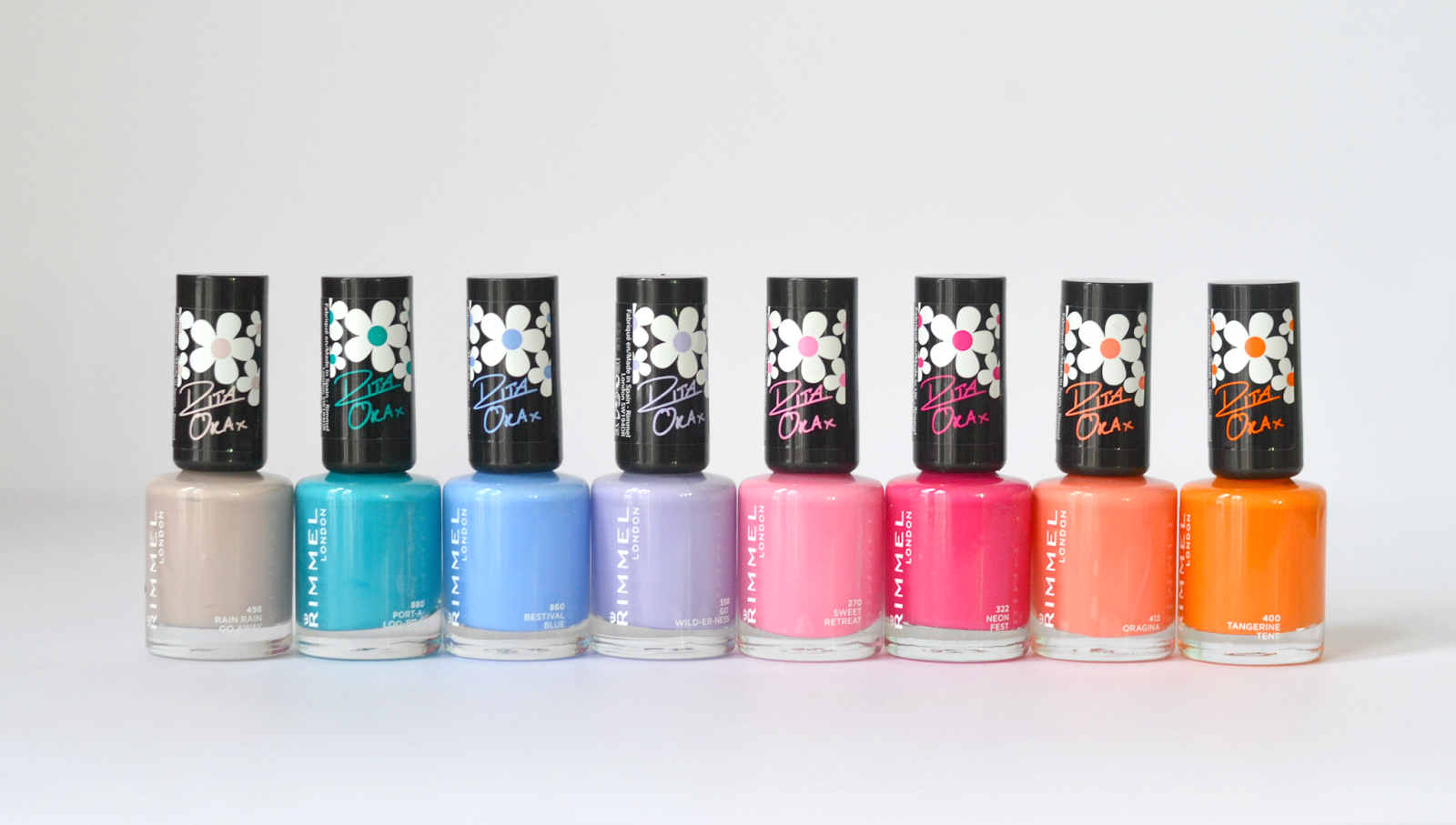Rita Ora For Rimmel London: NEW \'Colourfest\' Nail Collection | Nails ...