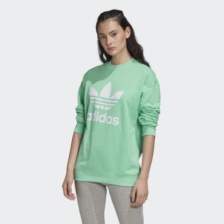 Photo of Kleeblatt Crew Sweatshirt Prisma Mint Damen