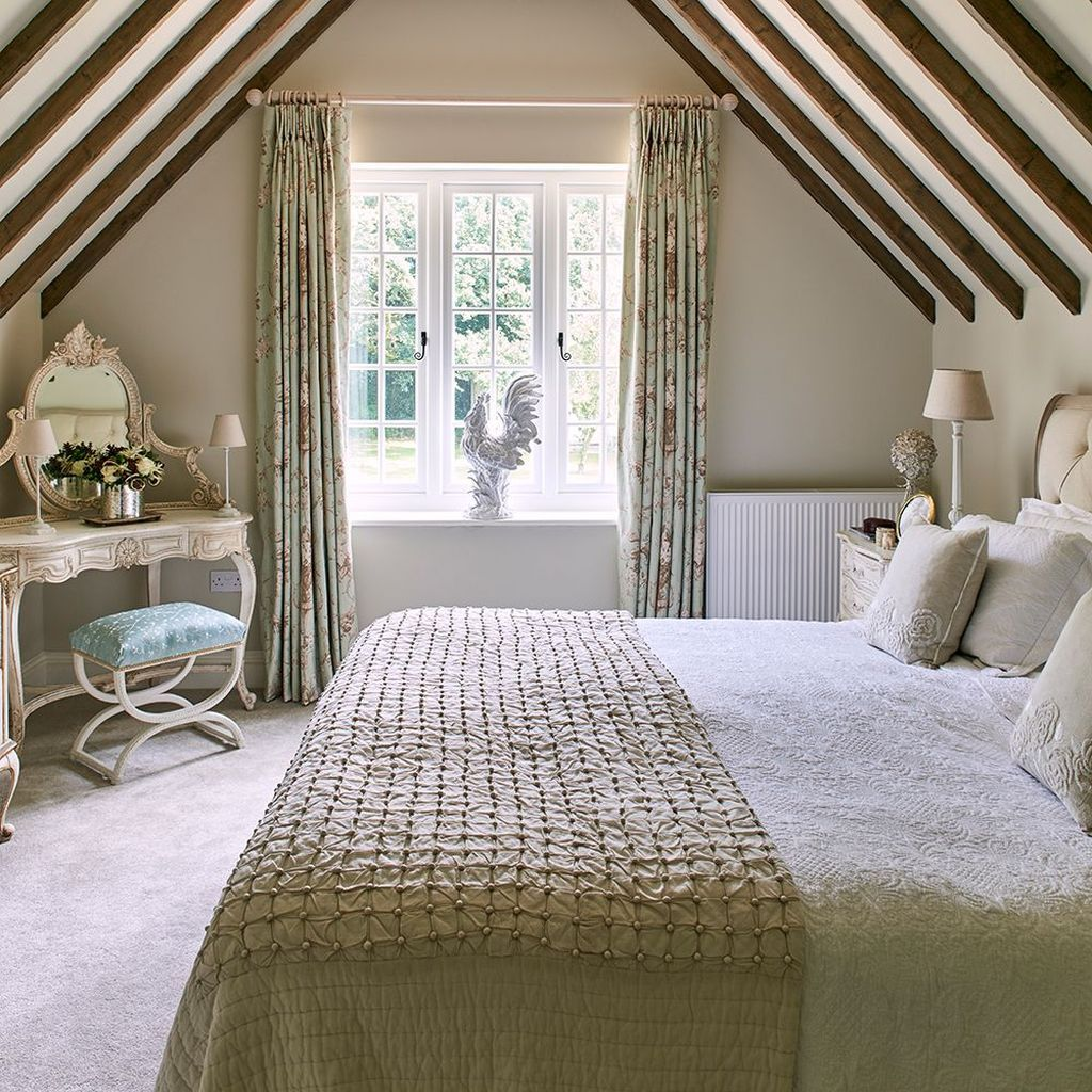 34 Awesome Cottage Bedroom Decoration Ideas In 2020 Country Style Bedroom Cottage Style Bedrooms Country Cottage Bedroom