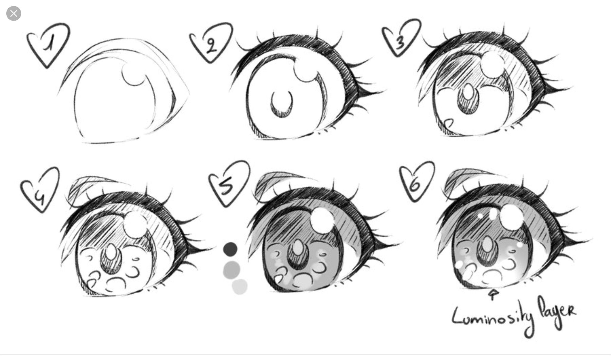 Anime Eyes Practice By Saflam Deviantart Com On Deviantart Anime Eye Drawing How To Draw Anime Eyes Girl Eyes Drawing
