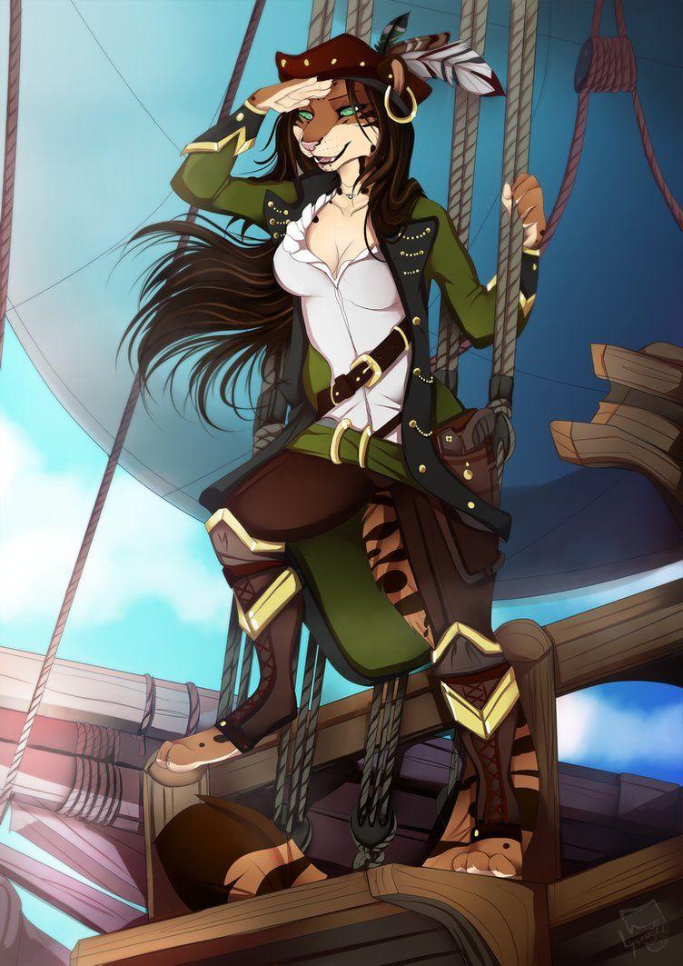 Pirate Lady By Lycangeldeviantartcom On Deviantart -2373