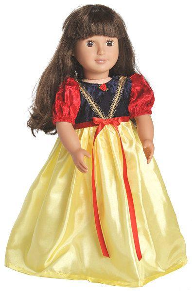 Disney Princess SNOW WHITE Doll Princess Dress by CastlesNCrowns ...
