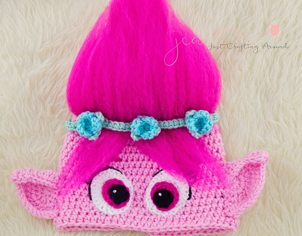 Crochet Pattern Poppy Hat Just Crafting Around
