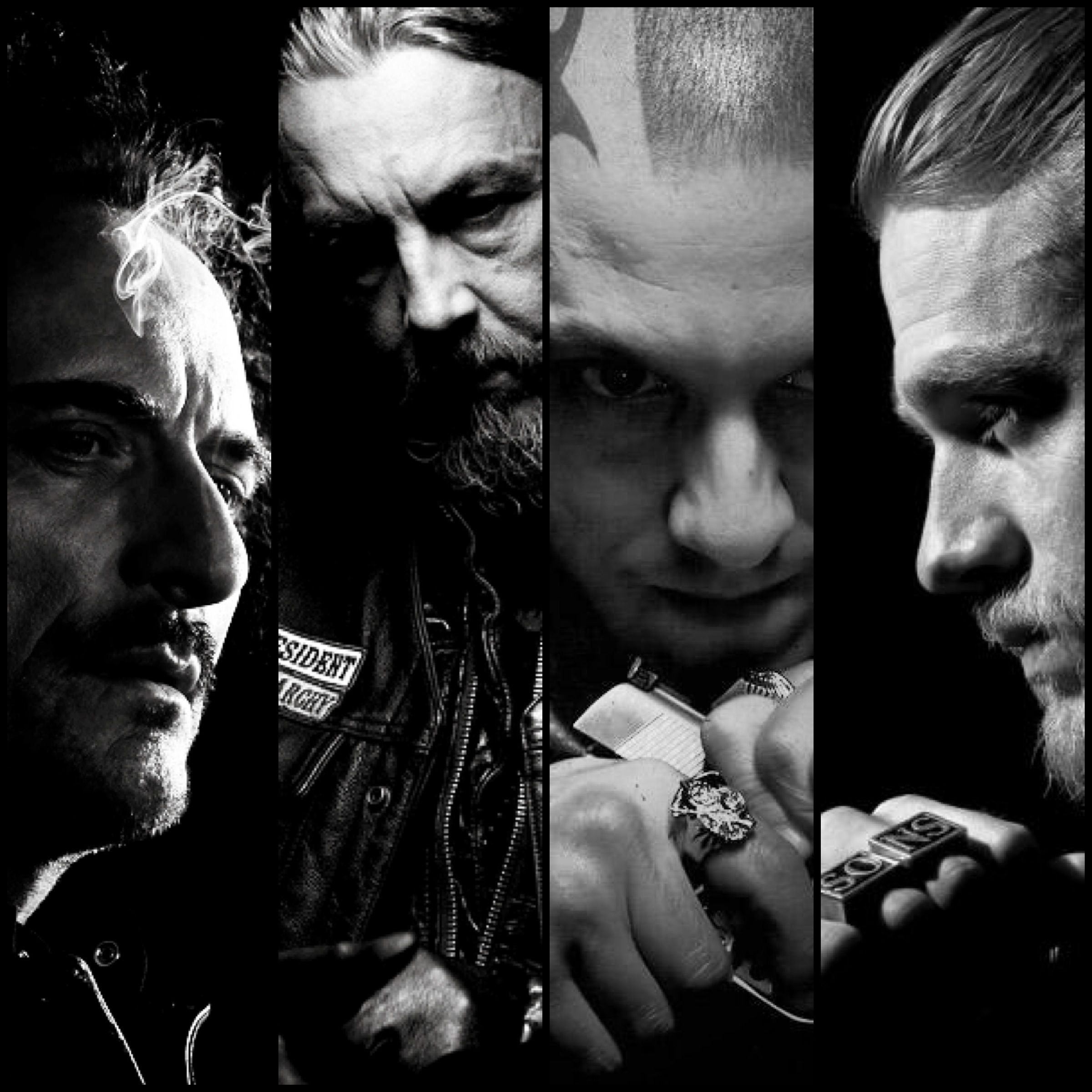 Tig / Kim Coates / Chibs / Tommy Flanagan / Juice / Theo Rossi / Jax / Charlie Hunnam / Sons of Anarchy