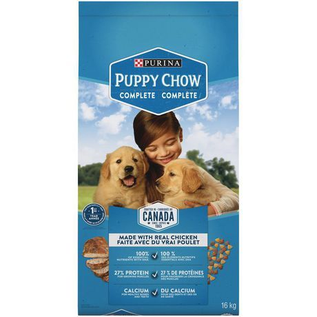 Purina Puppy Chow Complete Puppy Food 16kg Purina Puppy Chow